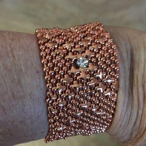 Jewelry - Rose tone wrap bracelet